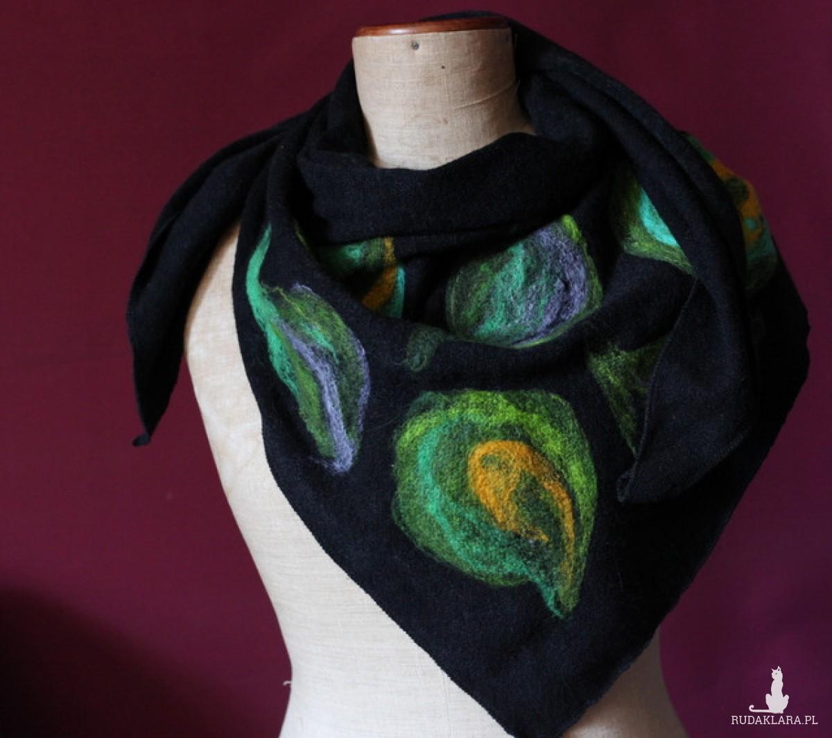 chusta damska handmade etniczna