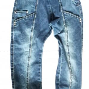 spodnie dziewczęce jeansy pumpy alladyny