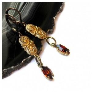 Kolczyki w stylu vintage 1459