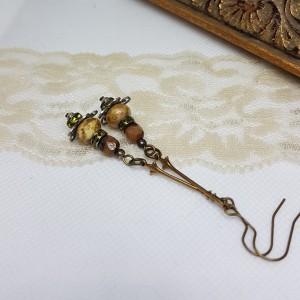 Kolczyki Długie Toffi Vintage