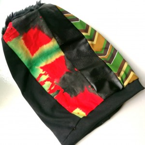 czapka damska etno boho handmade szyta patchworkowo