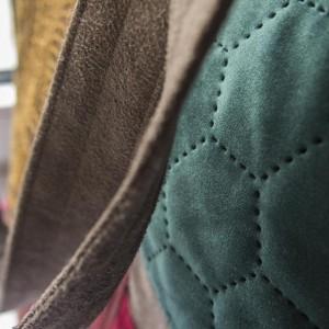 Duża torba na ramię z haftem