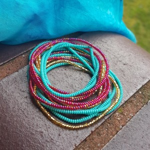Bransoletki Zestaw Seed Beads