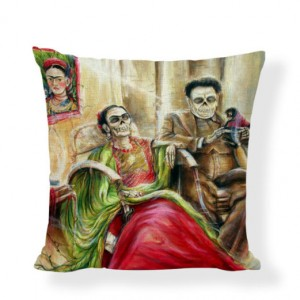 poszewka na poduszkę z wizerunkiem Frida Kahlo