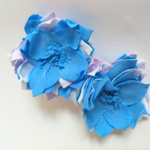 klipsy wiosenne energetyczne kwiaty polecam pojedyncza sztuka