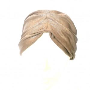 opaska turbanowa kolor miedziany