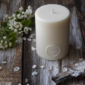 Duża, ekskluzywna świeca z wosku sojowego