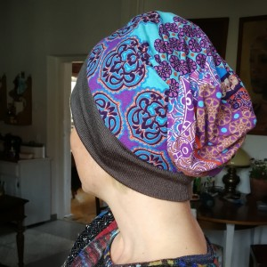czapka damska etno boho orientalna wiosenna