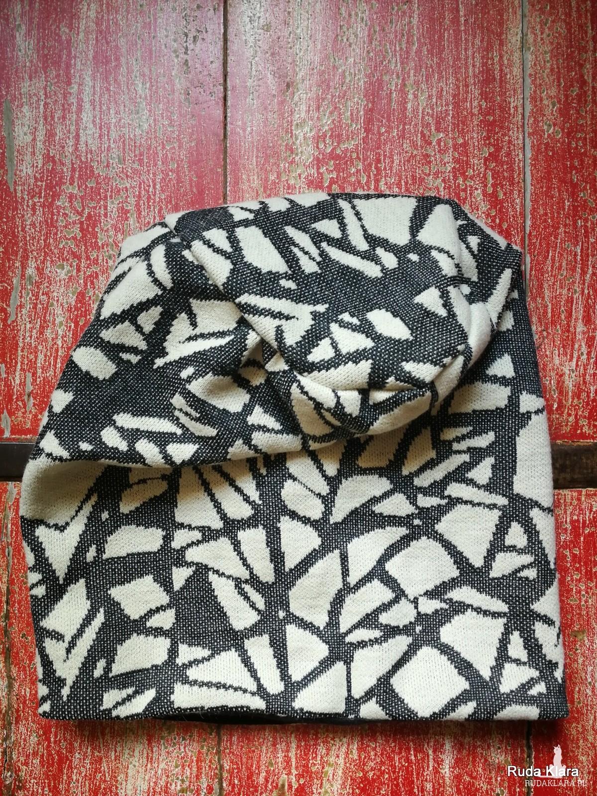 czapka wiosenna na podszewce