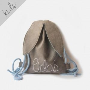 Mini plecak królik z imieniem Adaś