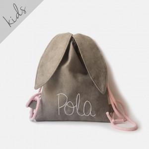 Mini plecak królik z imieniem Pola
