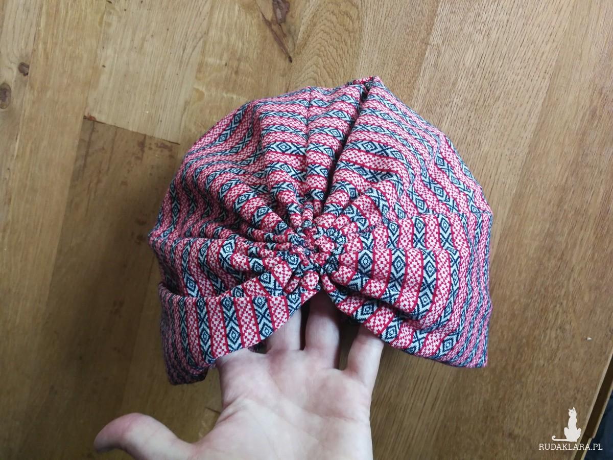 turban kolorowy rozmiar uniwersalny, box a1-polecam