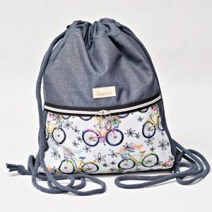 Workoplecak wodoodporny, worek plecak, torba na plecy, worek ze sznurami, plecak wodoodporny rowery