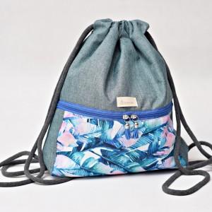 Workoplecak wodoodporny, worek plecak, torba na plecy, worek ze sznurami, plecak wodoodporny pióra