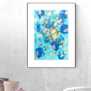 abstrakcyjna grafika na ścianę, minimalizm rysunek, ładna abstrakcja do pokoju
