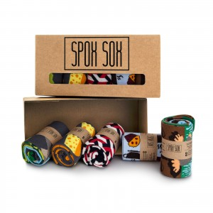 Zestaw kolorowych skarpet - Spox Sox