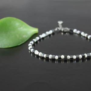 Bransoletka minimalistyczna z pereł