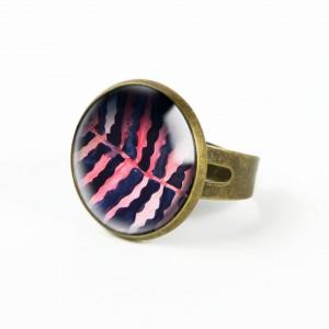 PAPROTKA pierścionek