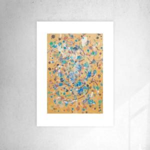 minimalizm grafika, nowoczesna dekoracja na ścianę, abstrakcyjny rysunek do pokoju,  abstrakcja malowana ręcznie