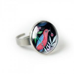 RED BIRD pierścionek