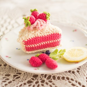 Ciasto malinowe