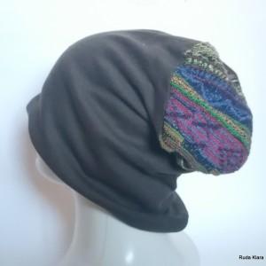 czapka etno boho folk wiosenna
