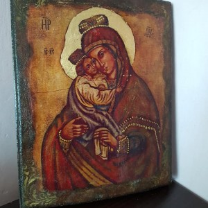 """Obraz """"Matka Boska z Dzieciątkiem"""" - duży"""