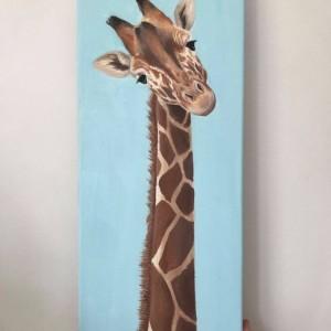 """Obraz """"Żyrafa"""""""