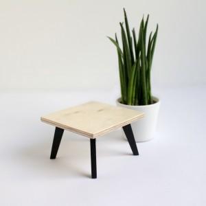 Stolik kawowy kwadratowy dla lalek