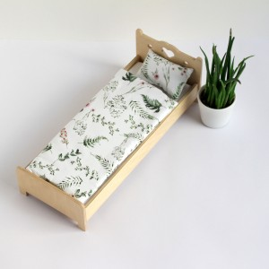 Łóżko pojedyncze dla lalek