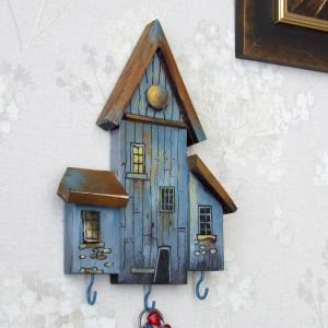 Domek - mały wieszaczek na klucze