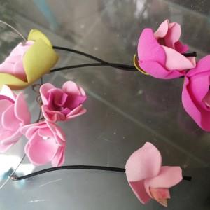 naszyjnik kwiatowy kolia
