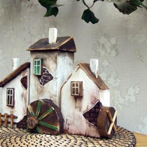 3 domki drewniane - Osada Młynarza