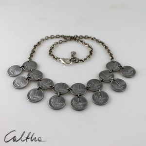 Grosiki - naszyjnik z monet mniejszy