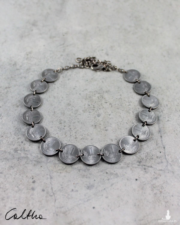 Grosiki - naszyjnik z monet prosty