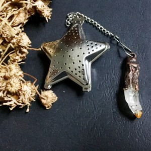 zaparzacz herbaty/ziół gwiazda z cytrynem