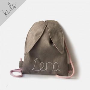 Mini plecak królik z imieniem Lena