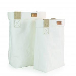 Eko torba z papieru BigBag Wege White S - shopperka