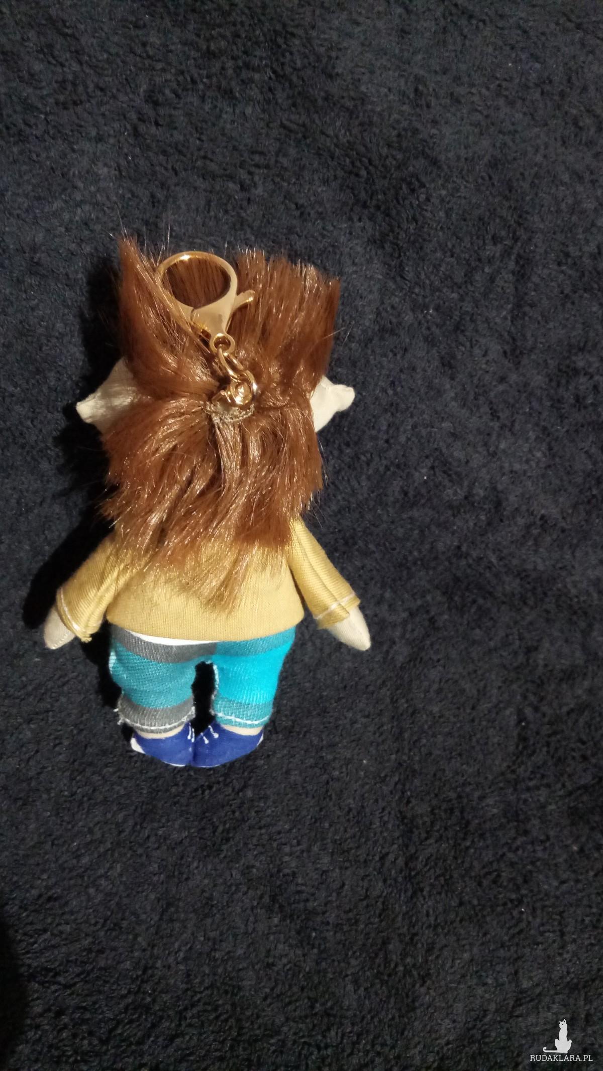 brelok lalka z irokezem