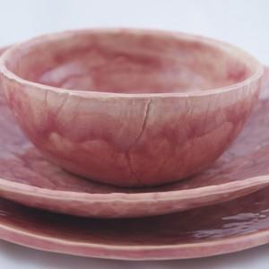 Zestaw ceramiczny rosa