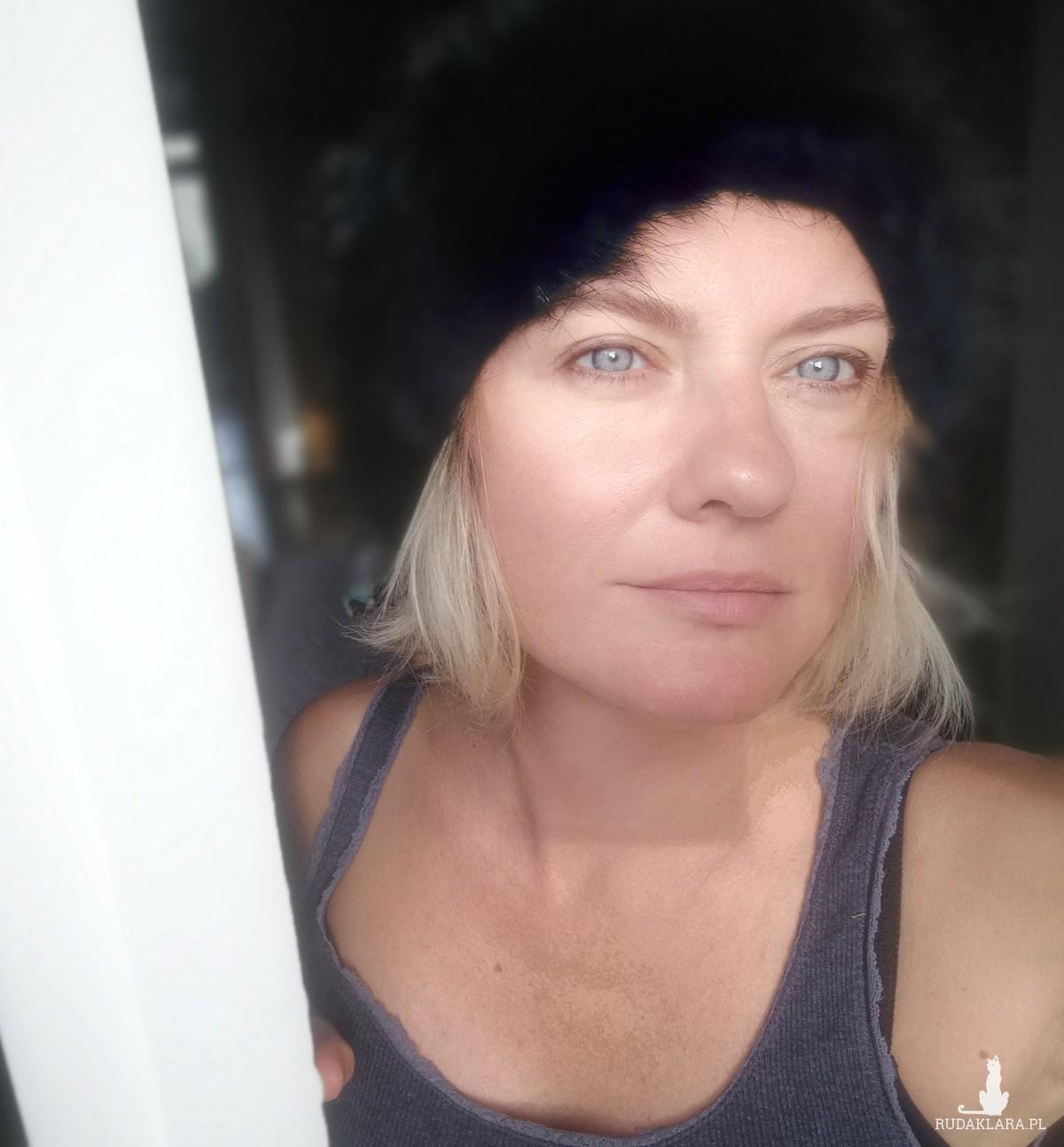 czapka damska męska unisex szara
