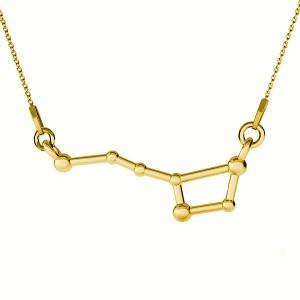 KONSTELACJA WIELKA NIEDŹWIEDZICA- srebro złocone