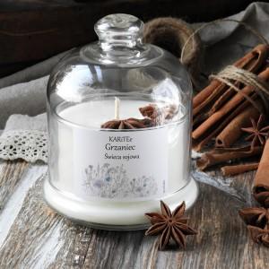 Dekoracyjna świeca sojowa GRZANIEC