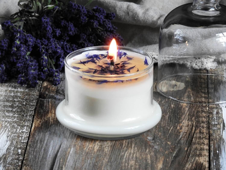 Dekoracyjna świeca sojowa WAKACJE W PROWANSJI