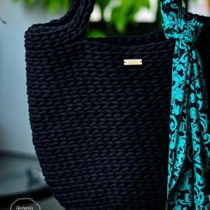 Klasyczna torba ze sznurka