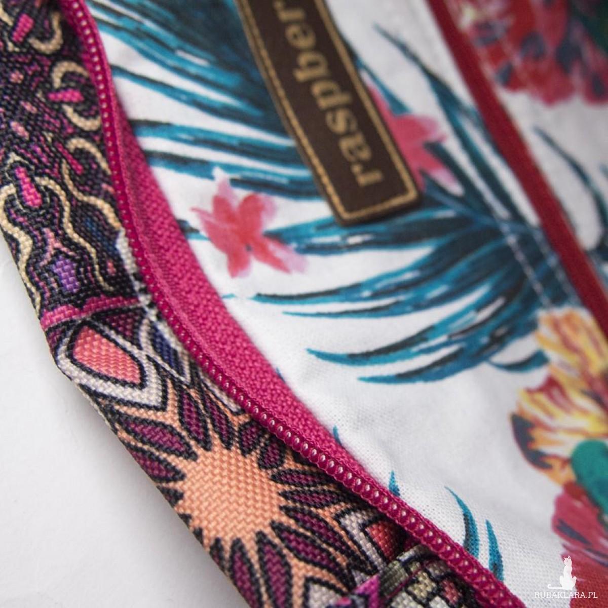 Różowa torba double azulejo