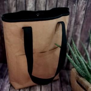 Torba ,torebka damska,na ramię ,kolor brązowy.