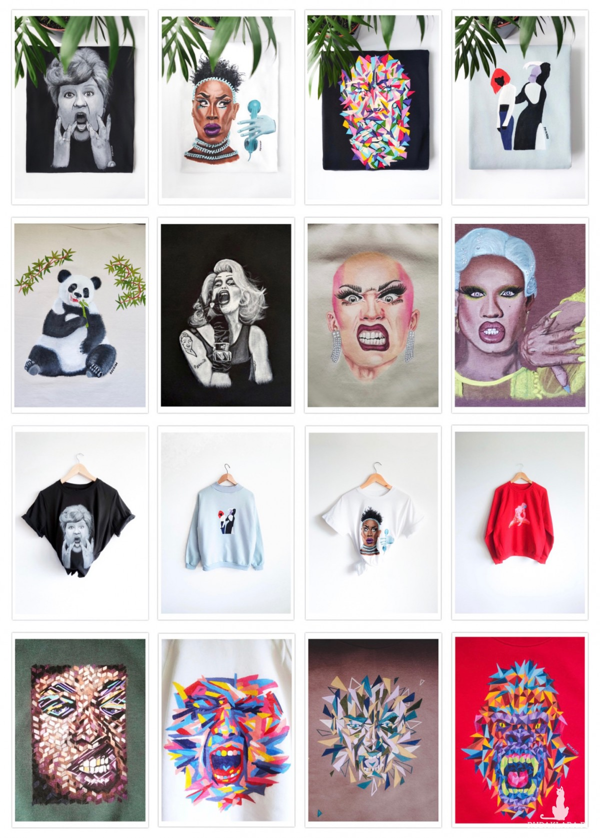 Ręcznie malowana koszulka - personalizacja, na zamówienie
