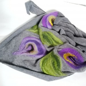 2  chusty dla Pani Ewy handmade wełniana handmade