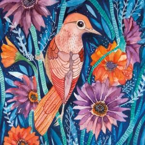 Autumn Bird 50x70
